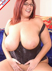Big Titted housewife sucking like a pro